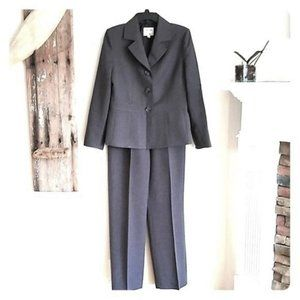 Collections for Le Suit Herringbone Pant Suit 8